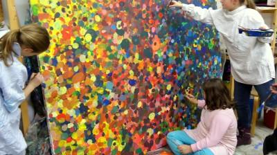 Kinder machen Kunst